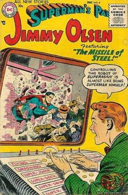 Superman's Pal, Jimmy Olsen / The Superman Family (Comic Book) #9