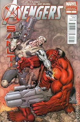 Avengers: X-Sanction (Variant Covers) (Comic Book) #3.1