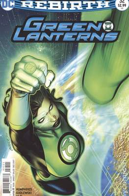 Green Lanterns (Vol. 1 2016-... Variant Covers) (Comic Book) #32