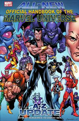 All-New Official Handbook of the Marvel Universe Update #3