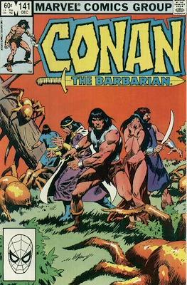 Conan The Barbarian (1970-1993) (Comic Book 32 pp) #141