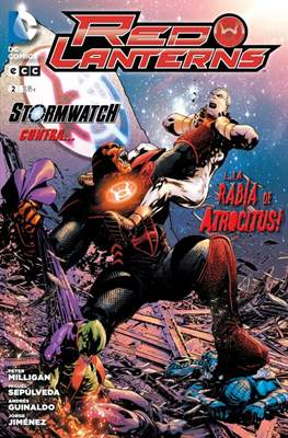 Red Lanterns. Nuevo Universo DC #2