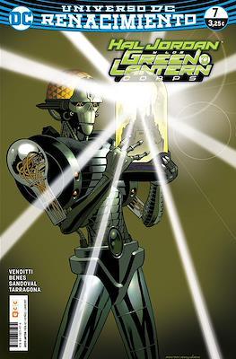 Green Lantern. Nuevo Universo DC / Hal Jordan y los Green Lantern Corps. Renacimiento (Grapa) #62/7