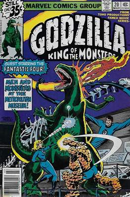 Godzilla King of the Monsters #20