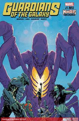 Guardians of the Galaxy Monsters Unleashed (2017)