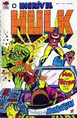 O incrível Hulk (Grampo) #7
