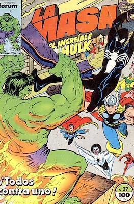 La Masa. El Increíble Hulk (Grapa 36-32 pp) #37