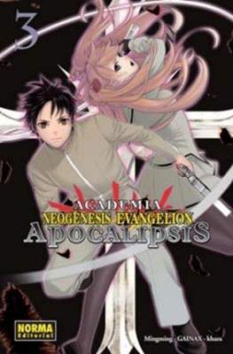 Academia Neogénesis Evangelion. Apocalipsis (Rústica con sobrecubierta) #3