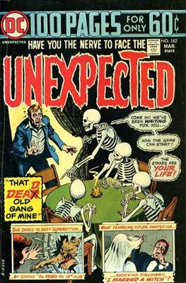 The Unexpected (Comic Book) #162