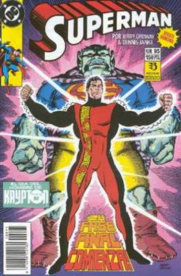 Superman: El Hombre de Acero / Superman Vol. 2 (Grapa 36 pp) #95