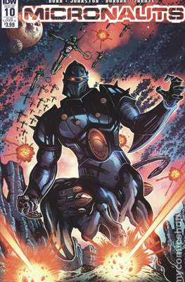 Micronauts (2016-2017 Variant Cover) (Comic Book) #10.1
