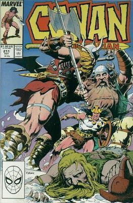 Conan The Barbarian (1970-1993) (Comic Book 32 pp) #211