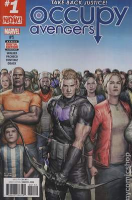Occupy Avengers (2016-2017 Variant Covers) #1.3