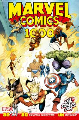Marvel Comics 1000 - Variante exclusiva MilComics.com