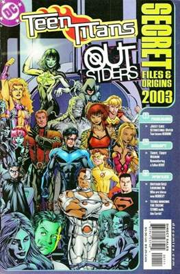 Teen Titans / Outsiders Secret Files 2003