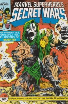 Secret Wars (1985-1987) (Grapa 32 pp) #10