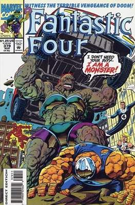 Fantastic Four Vol. 1 (1961-1996) (saddle-stitched) #379