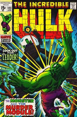 The Incredible Hulk Vol.1 (Saddle-stitched. 1962-1999) #123