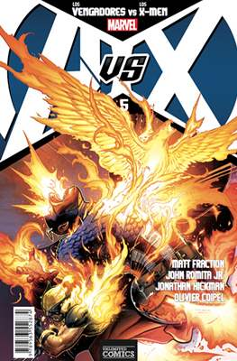AvsX: Vengadores vs X-Men #5