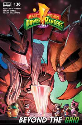 Mighty Morphin Power Rangers (Comic Book) #38