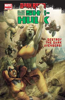 All New Savage She-Hulk - Dark Reign #4
