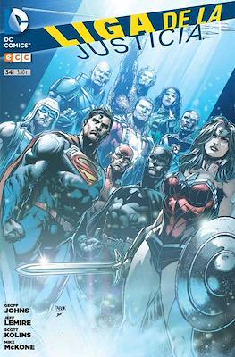Liga de la Justicia. Nuevo Universo DC / Renacimiento (Grapa) #34
