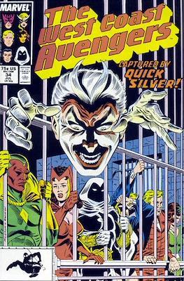 West Coast Avengers Vol. 2 (Comic-book. 1985 -1989) #34