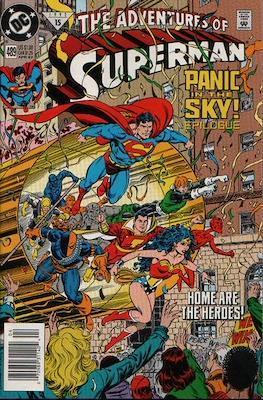 Superman Vol. 1 / Adventures of Superman Vol. 1 (1939-2011) (Comic Book) #489