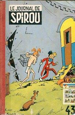 Spirou. Recueil du journal (Cartonné) #43