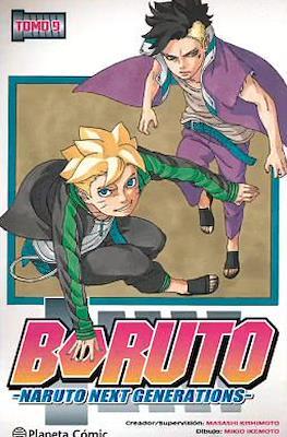 Boruto: Naruto Next Generations (Rústica con sobrecubierta) #9