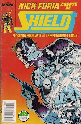 Nick Furia, Agente de SHIELD vol. 1 (1990-1991) (Grapa. 17x26. 32 páginas. Color. (1990).) #6