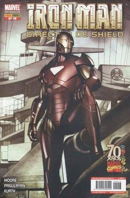 Iron Man: Director of SHIELD / Iron Man & Máquina de Guerra / El Invencible Iron Man (2008-2011) #16