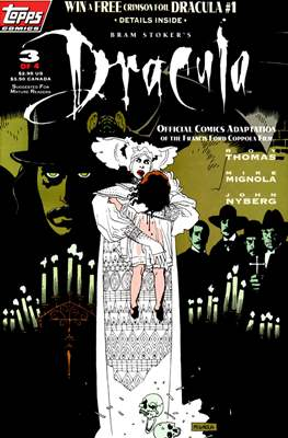 Bram Stoker's Dracula. Official Comics adaptation of the Francis Ford Coppola film #3