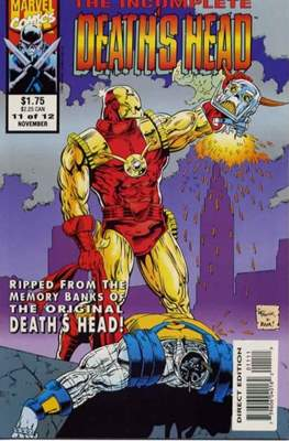 The Incomplete Death's Head (1993) (Comic Book) #11
