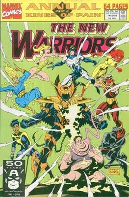 The New Warriors Annual Vol 1 (Comic-Book) #1