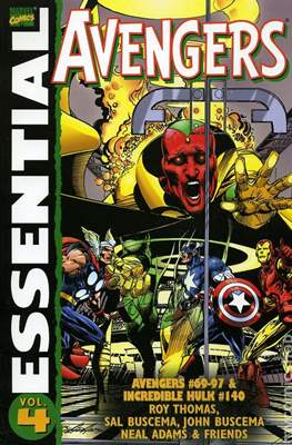 The Essential Avengers (Softcover 1st Edition) #4