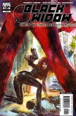 Black Widow: The Things They Say About Her (Comic Book) #1