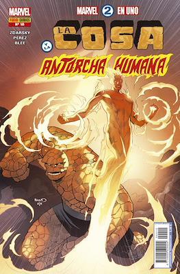 Marvel 2 en Uno: La Cosa y La Antorcha Humana #10