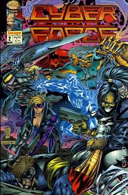 Cyberforce Vol. 1 (1992-1993) (Grapa) #2