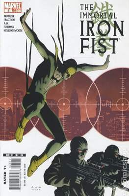 The Immortal Iron Fist (2007-2009) (Comic Book) #5