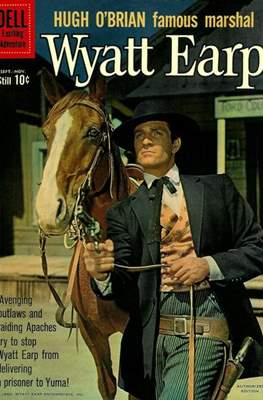 Hugh O'Brian Famous Marshal Wyatt Earp (Comic Book) #12