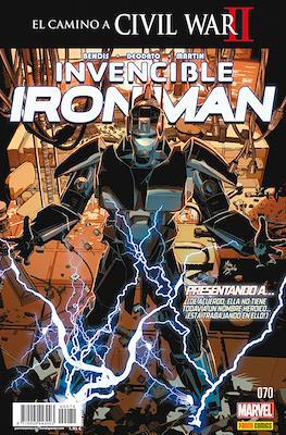 El Invencible Iron Man Vol. 2 (2011-) (Grapa - Rústica) #70