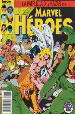 Marvel Héroes (1986-1993) (Grapa 32 pp) #34