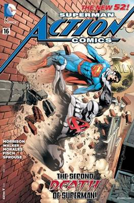 Action Comics Vol. 2 (2011-2016) (Grapa) #16