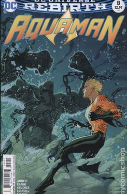 Aquaman Vol. 8 (2016-2021) Variant Cover) #8