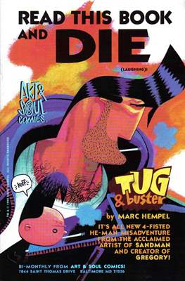 Tug & buster: Read This Book and Die (Laughing)