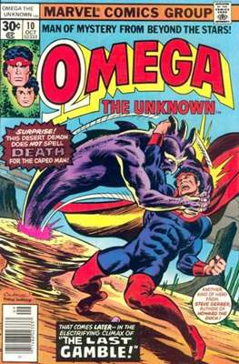 Omega The Unknown (Comic Book. 1976 - 1977) #10