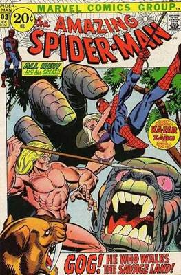The Amazing Spider-Man Vol. 1 (1963-2007) (Comic-book) #103