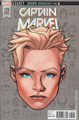 The Mighty Captain Marvel (2017-) Variant Covers #125.1