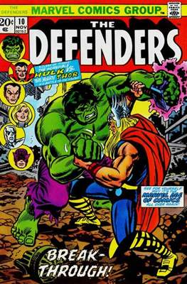 The Defenders vol.1 (1972-1986) (Grapa, 32 págs.) #10